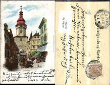 164714,Krems Steinerthor 1899 Künstler Ak