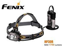 New Fenix HP30R Cree XM-L2 1750 Lumens LED Headlight Headlamp (NO battery) Grey
