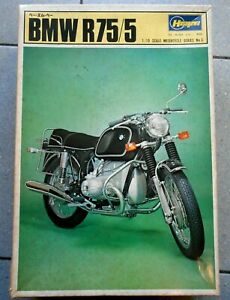 HASEGAWA BMW R75/5 - 1:10 SCALE MOTORCYCLE SERIES No.3