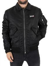 Cappotti e giacche da uomo bomber , harrington neri marca SCHOTT
