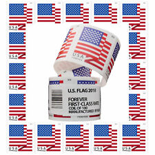 US American Forever Flag Stamps 2018 Year -Free Shipping 1 Roll (Coil) Sealed