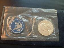 1974-S San Francisco Eisenhower 40% Silver,60% Nickel, Copper Unc  Dollar