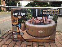 Bestway Lay-Z-Spa Palm Springs Whirlpool 196 x 71 Pool NEU in OVP WG