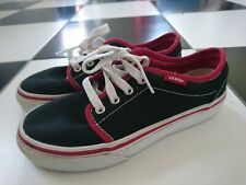 Vans boy trainers shoes size UK 12.5 kids VGC