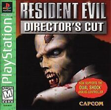 Resident Evil (Director's Cut -Dual Shock Edition)  (Sony PlayStation 1, 1997)
