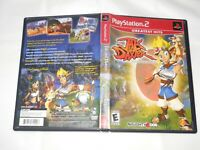 Jak and Daxter: The Precursor Legacy Greatest Hits PlayStation 2 PS2 Tested
