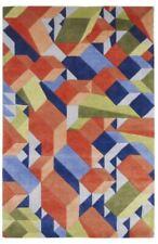 Think Rugs Adam Daily Wool Blend Hand Tufted Designer Rug, Multi, 180W x 270Lcm
