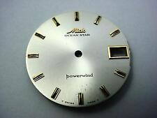 Ocean Star Mido Powerwind Vintage Watch Dial 29.26mm Date Window Gold/Blck Mrkrs