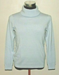 Jaeger 100%  Pure Cashmere Jumper, Roll Or Cowl Neckline Size M RP £140.00