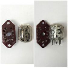 ZM1162A MULLARD NEW NIXIE TUBE WITH SOCKET x1PC