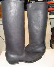 TONY MORA  746 Womens Black Riding Boots Size EU 35 fit size US 4 NEW