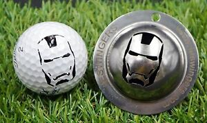 Ironman Golf Ball Custom Marker Stainless Steel