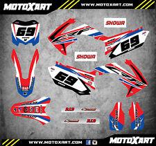 Custom Graphics Full Kit for Honda CRF 250 - 2010 / 2013 SLEEK Style stickers