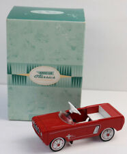 HALLMARK Boxed KIDDIE CAR CLASSICS Red 1964 1/2 FORD MUSTANG