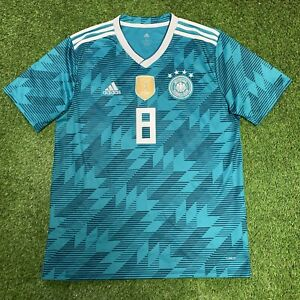 Adidas 2018 Fifa World Cup Germany Kroos Jersey Shirt Kit L Large Blue Away 8