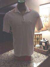 Tommy Bahama White Knit Shirt Size Medium