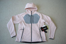RARE WESTCOMB REBEL HOODIE JACKET SOFTSHELL IPOD CONTROL PINK SZ 8 NEW FOR WOMEN