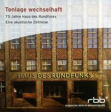 CD tonlage Chameleonic Poly Cloth - 75 Years House of Radio,A Acoustic Zeitreise