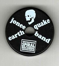 BLACK PLASTIC 45 ADAPTOR NEW Jonee Earthquake Band - Punk Rock Garage PROMO ITEM