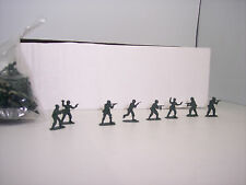 HO TRAINS US ARMY TROOPS 72 UNPAINTED COMMANDO ACTION