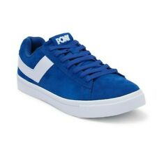 PONY Classic Low Suede Sneaker SHOES SIZE 9 $65 Royal Blue