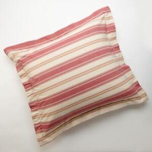 "CHAPS Home DYLAN Set of 2 EURO Pillow SHAMS Size: 26 x 26"" New SHIP FREE Cotton"