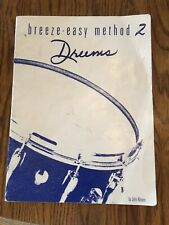 Breeze-Easy Method 2 - Drums by John Kinyon Lesson Book