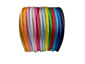 Job lot or 1 pcs sample women Alice headband fabric alice band hair head band UK