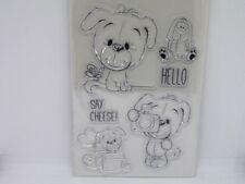 Motivstempel Hund Fun Dog Fun Clear Stempel Kartengestaltung Basteln  15 x 10 cm