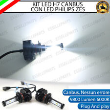 KIT FULL LED FORD FIESTA MK6 VI LAMPADE H7 6000K BIANCO 9800 LUMEN CANBUS LED