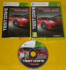 TEST DRIVE FERRARI RACING LEGENDS XBOX 360 Versione Italiana »»»»» COMPLETO
