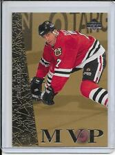 96-97 Collector's Choice Chris Chelios MVP Gold # UD31