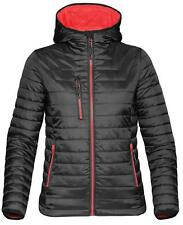 Zip Patternless Gilet Coats & Jackets for Women
