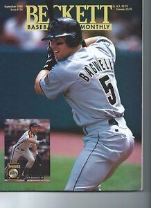 Becket Baseball Card Monthly September 1994  issue #114 Jef Bagwell