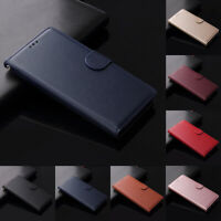 For Xiaomi Redmi Note 9 8 7 Magnetic Flip Leather Stand Wallet Card Cover Case