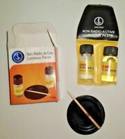 LUMINOUS PASTE KIT diy lume watch hands watchmakers glow lume watches hand dial