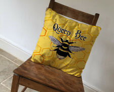 Queen Bee Cushion Covers Pillow Cases Home Decor or Inner