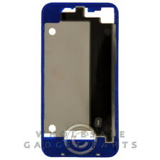 Door Frame for Apple iPhone 4 GSM Dark Blue Panel Housing Battery Cover