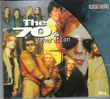 NOW THE MUSIC The 70's Generation CD DIGI Mike Oldfield Deep Purple Procol Harum