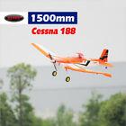 Dynam Cessna 188 Orange 1500mm Wingspan W/Gyro - SRTF