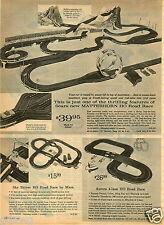 1965 PAPER AD Lionel Ho 1/32 Scale Slot Car Race Eldon Matterhorn Road Race