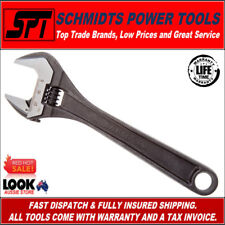 """BAHCO 8071 8"""" ADJUSTABLE WRENCH BLACK PHOSPHATE SHIFTER 200mm 80 SERIES SPANNER"""