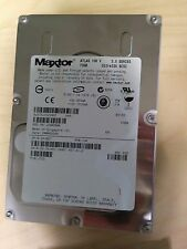 "** Maxtor Atlas 10K 73GB SCS 80-Pin 3.5"" Hard Disk Drive Ultra320 0XJ657"