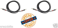 Monster iCable 800 MP3 Player to Auxiliary Input Cord 3ft 2 Pack Bundle