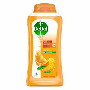 Dettol Body Wash and shower Gel, Energize - 250ml free ship