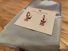 Brand New Olivia Burton Huggie Hoops & Bow Rosegold Earrings