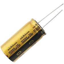 Nichicon UFW Audio Grade Electrolytic Capacitor, 15000uF @ 35V, 20% Tolerance