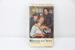 VHS New BROADCAST NEWS William Hurt Holly Hunter Albert Brooks