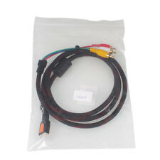 5ft HDMI to 3Color Coded RCA M/M Audio Video Extension Convert Composite Ca