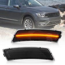 Smoke Lens Amber Led Front Side Marker Light for VW 18-up Tiguan 12-19 Beetle 2X